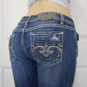 ReRock Express Jeans Barely Boot Size 8L